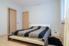 Modern binnenland. Slaapkamer. Royalty-vrije Stock Foto's