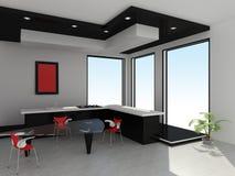 Modern binnenland van keuken royalty-vrije stock afbeeldingen