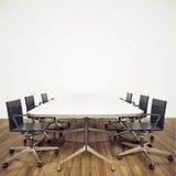 Modern binnenlands bureau Royalty-vrije Stock Foto's