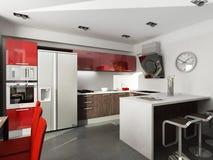 Modern binnenlands ontwerp Royalty-vrije Stock Foto's