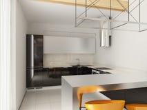Modern binnenlands ontwerp Royalty-vrije Stock Fotografie