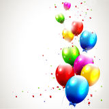 Modern birthday background Royalty Free Stock Image