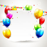 Modern birthday background Royalty Free Stock Photography