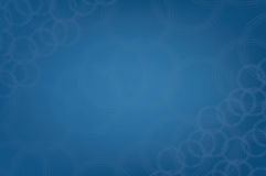 Modern blå bakgrund för modell för cirkulärabstrakt begreppliten droppe Arkivbilder