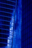 modern blå byggnad Royaltyfri Bild
