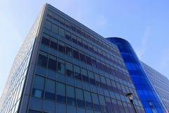 modern blå byggnad Royaltyfri Foto