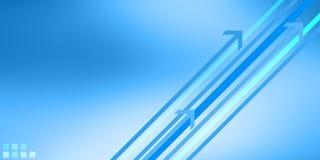 modern blå design Royaltyfri Bild