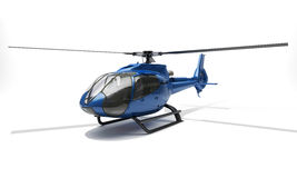 Modern helikopter Royaltyfria Bilder