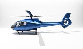 Modern helikopter Fotografering för Bildbyråer