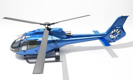 Modern helikopter Arkivfoto