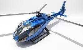 Modern helikopter Arkivbild