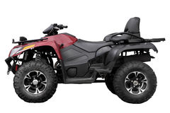 Modern black ATV Stock Image