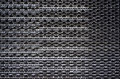 Modern black brick wall pattern. Architectural background. Modern black brick wall pattern and texture. Architectural background Royalty Free Stock Images