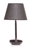 A modern black lamp Stock Images