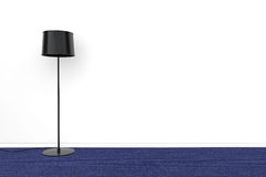 Modern Black lamp Royalty Free Stock Image