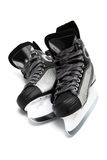 Modern black skates Royalty Free Stock Photos