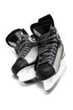 Modern black skates Royalty Free Stock Photos