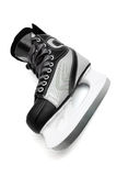 Modern black skates Stock Photography