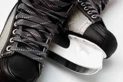 Modern black skates Stock Photography