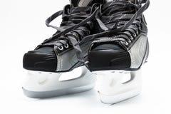 Modern black skates Royalty Free Stock Image