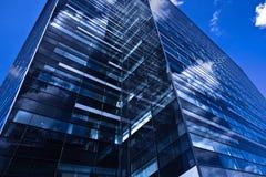 Modern black skyscrape Stock Photography