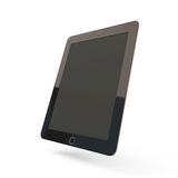 Modern black tablet pc Stock Image