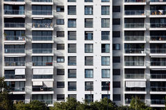 Modern block of flats Stock Images