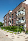 Modern block of flats Royalty Free Stock Photos