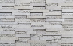 Modern block wall Royalty Free Stock Images