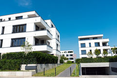 Modern blocks of flats in Berlin Stock Images