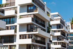 Modern blocks of flats in Berlin Royalty Free Stock Photo