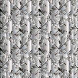 Modern bloemen abstract naadloos patroon stock illustratie