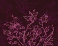 Modern bloemenontwerp Stock Afbeeldingen