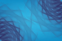 Modern blue abstract Underwater Pattern background. Vector Royalty Free Stock Photography