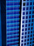 Modern blue buildings Stock Photography