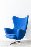 Modern Blue Chair Stock Images