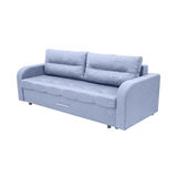 Modern blue couch Royalty Free Stock Photography