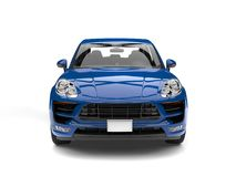Free Modern Blue Family Car - Front View Royalty Free Stock Photo - 114729815