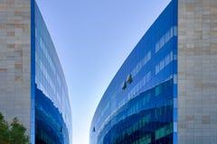 Modern Blue Glass Building Stock Photo