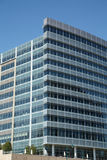 Modern Blue Glass Office Building Stock Photo