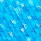 Modern blue halftone template Stock Photos