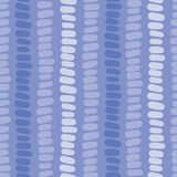Modern blue seamless vector background. Blue hues hand drawn horizontal blocks in vertical rows on blue background. Blue shades royalty free illustration