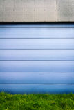 Modern blue tile wall Royalty Free Stock Images