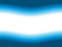Modern blue wavy background Stock Image