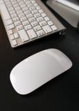 Modern bluetooth mouse Stock Photos