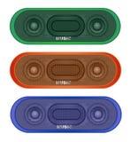 Modern Bluetooth Speaker. Color set Modern Bluetooth Speaker vector eps 10 Royalty Free Stock Images