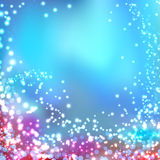 Modern blurred abstract glittering christmas background Stock Images