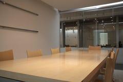Modern boardroom Stock Photo