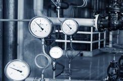 Modern boiler room Stock Image