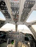 Modern bomber cockpit Stock Photos